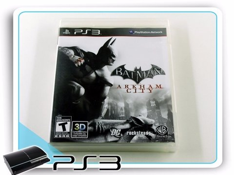 Batman Arkham City Original Playstation 3Ps3