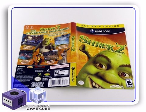 Encarte Shrek 2 Players Choice Original Gamecube