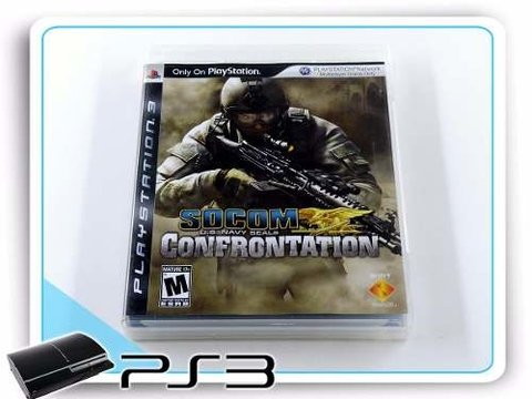 Socom Us Navy Seals Confrontation Orig. Playstation 3 PS3