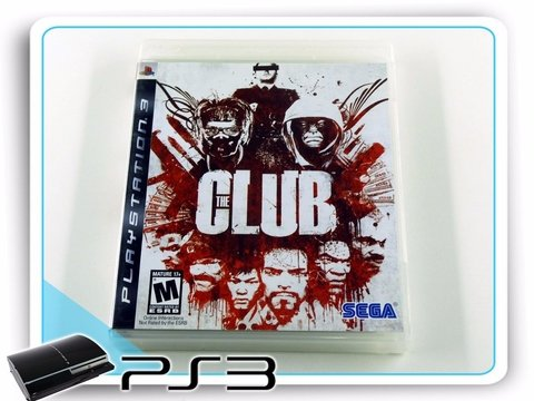 Ps3 The Club Original Playstation 3