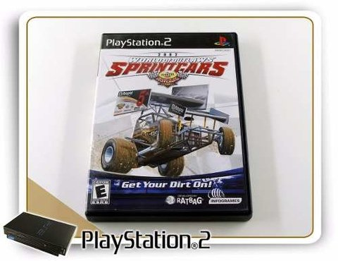 World Of Outlaws Sprintcars 2002 Original Playstation 2 PS2