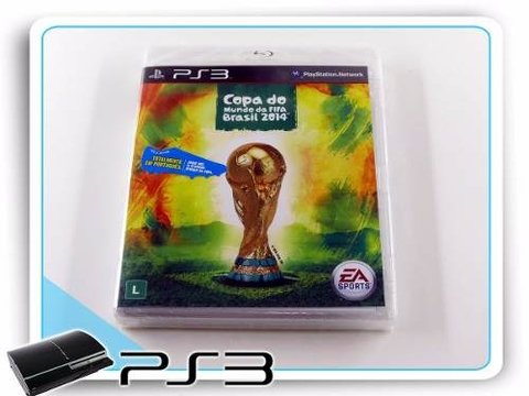 Copa Do Mundo Da Fifa Brasil 2014 Playstation 3 Novo PS3