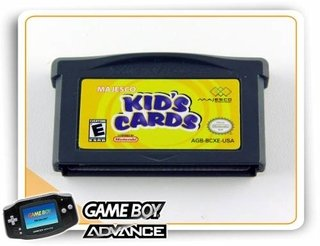 Gba Kids Cards Original Game Boy Advance