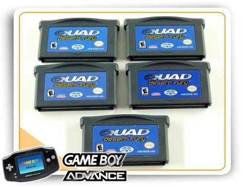 Quad Desert Fury Original Game Boy Advance - comprar online