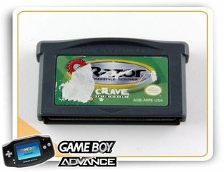 Razor Freestyle Scooter Original Game Boy Advance