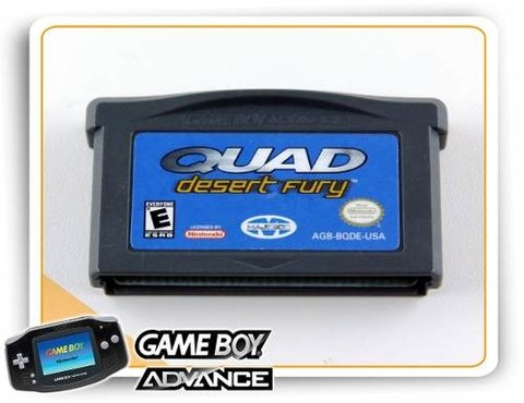 Quad Desert Fury Original Game Boy Advance