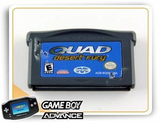 Quad Desert Fury Original Game Boy Advance GBA