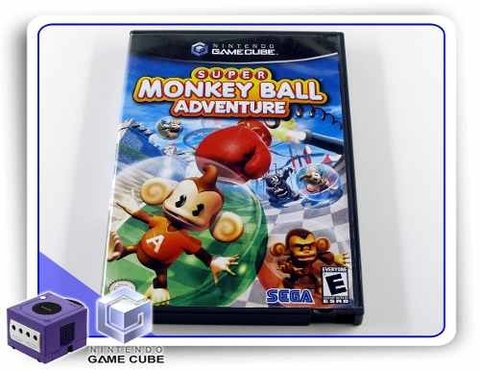 Super Monkey Ball Adventure Original Gamecube
