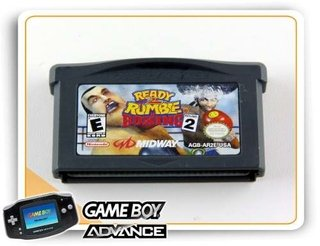 Gba Ready 2 Rumble Boxing Round 2 Original Game Boy Advance