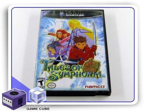 Tales Of Symphonia Original Game Cube