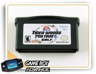 Tiger Woods Pga Tour Golf Original Game Boy Advance Gba