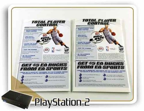 Manual Madden Nfl 2003 Original Playstation 2 PS2 na internet