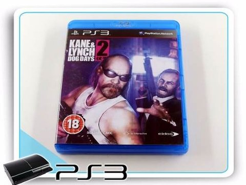 Kane & Lynch 2 Dog Days Original Playstation 3 PS3