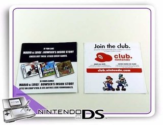 Panfletos Ds Originais Nintendo Ds