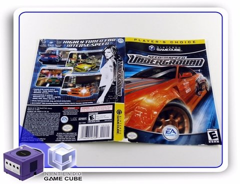 Gc Encarte Need For Speed Underground Original Gamecube