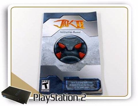 Manual Jak 2 Original Playstation 2 PS2