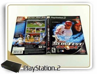Ps2 Encarte Mlb Slugfest 2004 Original Playstation 2
