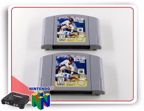 All-star Baseball 2000 Original Nintendo 64 N64 - comprar online