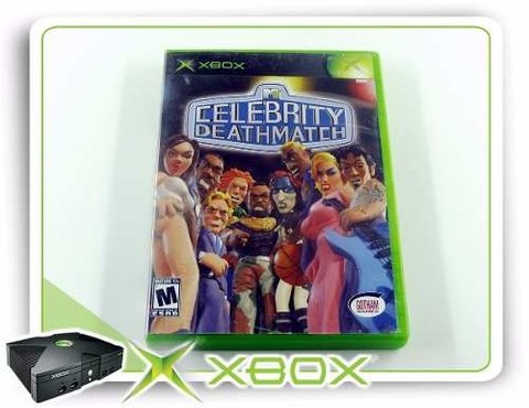 Celebrity Deathmatch Original XBOX Clássico