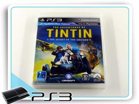 The Adventures Of Tintin Original Playstation 3 PS3