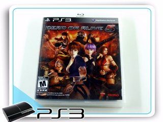 Dead Or Alive 5 Original Playstation 3 PS3