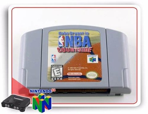N64 Nba Courtside Original Nintendo 64