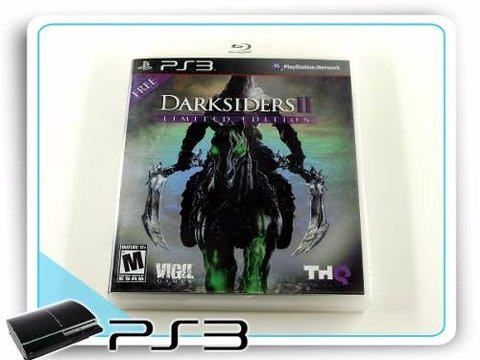 Darksiders 2 Original Playstation 3 Limited Edition PS3