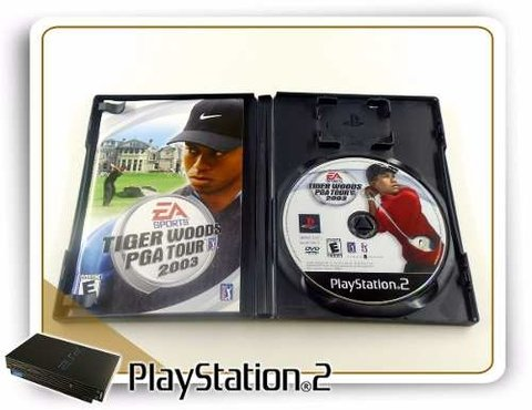 Tiger Woods Pga Tour 2003 Original Playstation 2 PS2 na internet