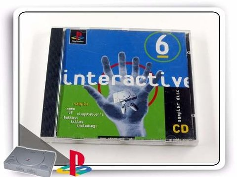 Interactive Cd Sampler Disc 6 Original Playstation 1 PS1