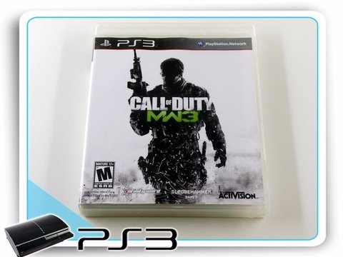 Call Of Duty Modern Warfare 3 Original Playstation 3 PS3