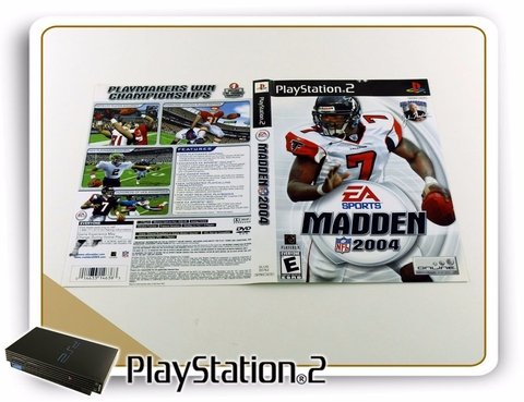 Ps2 Encarte Madden Nfl 2004 Original Playstation 2