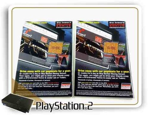Manual Gran Turismo 3 A-spec Original Playstation 2 PS2 na internet