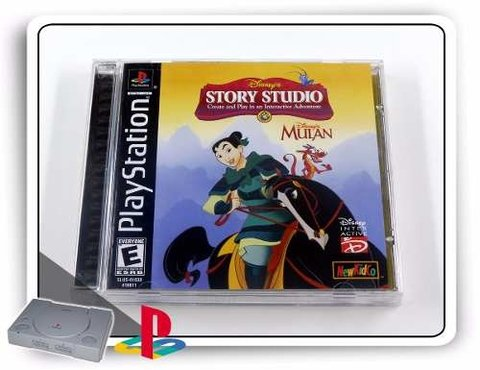 Mulan Original Playstation 1 PS1
