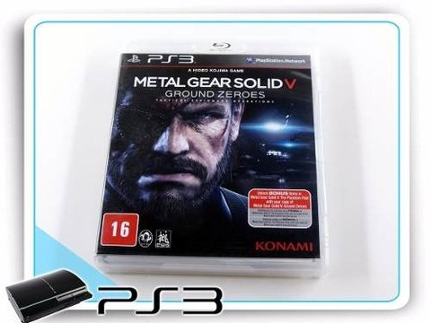 Metal Gear Solid 5 Ground Zeroes Original Playstation 3 PS3