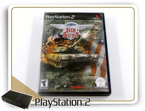 Seek And Destroy Original Playstation 2 PS2