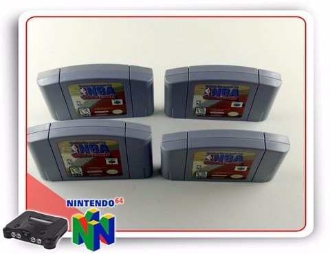 N64 Nba Courtside Original Nintendo 64 - Radugui Store