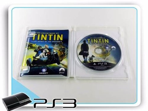 The Adventures Of Tintin Original Playstation 3 PS3 - comprar online