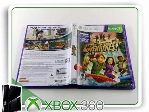 Kinect Adventures Original XBOX 360 na internet