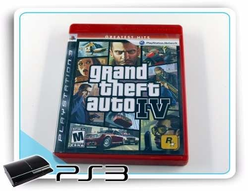 Gta 4 Original Playstation 3 Ps3 - Radugui Store