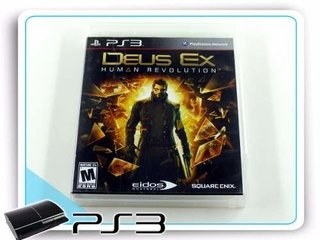 Deus Ex Human Revolution Original Playstation 3 Ps3
