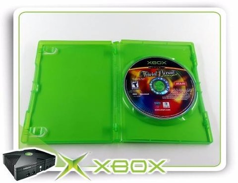 Trivial Pursuit Unhinged Original XBOX Clássico na internet
