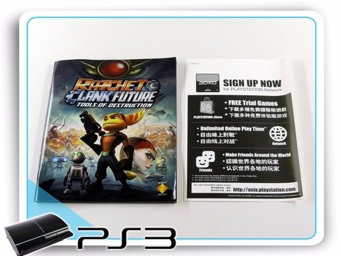 Ratchet E Clank Future Tools Of Destruction Playstation3 Ps3 - Radugui Store