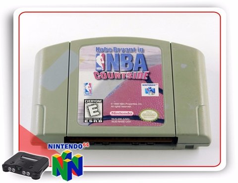Nba Courtside Original Nintendo 64 N64