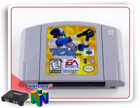 Triple Play 2000 Nintendo 64 Original N64