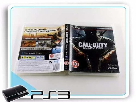 Call Of Duty Black Ops Original Playstation 3 PS3 na internet