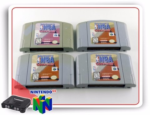 Nba Courtside Original Nintendo 64 N64 - comprar online