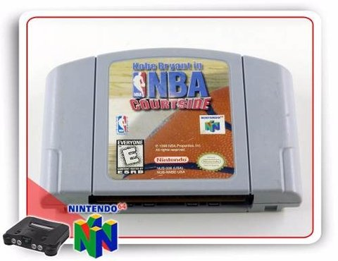 Nba Courtside Nintendo 64 Original N64