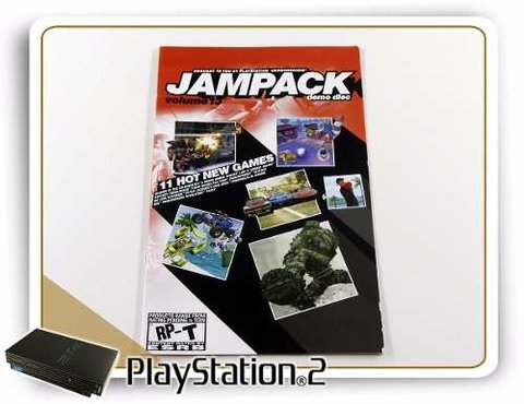 Manual Jampack Demo Disc Volume 1 Original Playstation 2 PS2