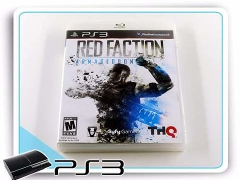 Red Faction Armageddon Original Playstation 3 PS3