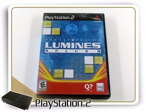Puzzle Fusion Lumines Plus Original Playstation 2 PS2